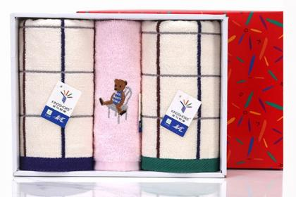 毛巾礼盒供应
