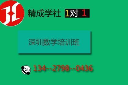 深圳初中数学培训班