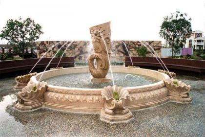 各类水景喷泉设计与景观雕塑