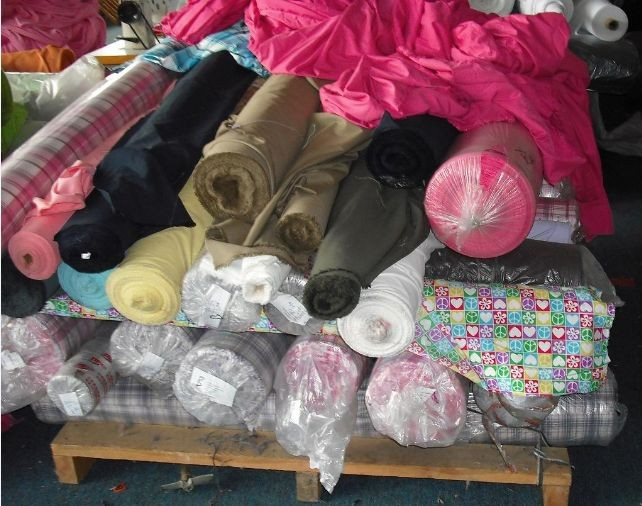 广州服装厂布料回收