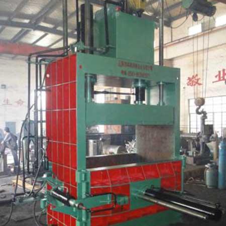 生产金属屑压块机