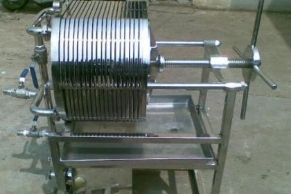 不锈钢板框过滤器工作原理与优点