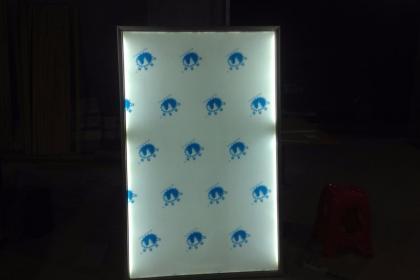 广州天河UV软膜灯箱制作