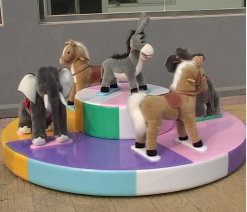 儿童滑梯充气玩具