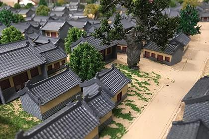 西安房地产展示模型