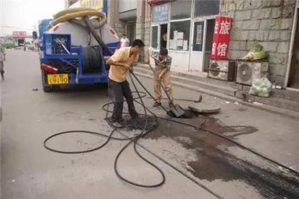 郑州高压管道清洗