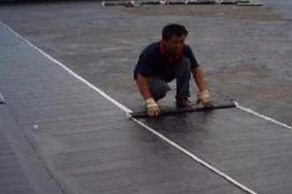 楼顶裂缝漏水防水补漏