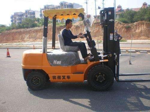 广州叉车培训