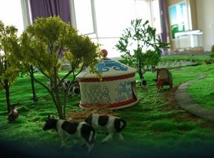 内蒙古地产模型