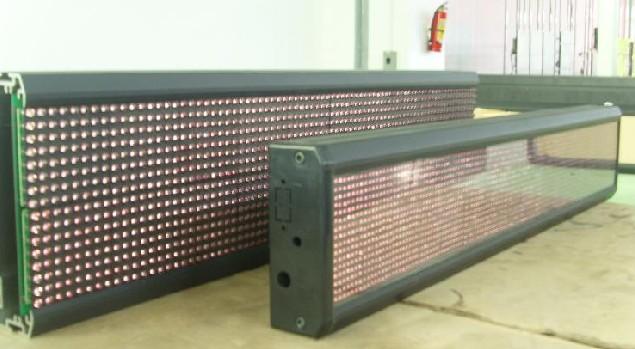 大型LED显示屏工程安装