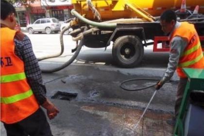 兰州新区高压车清洗管道