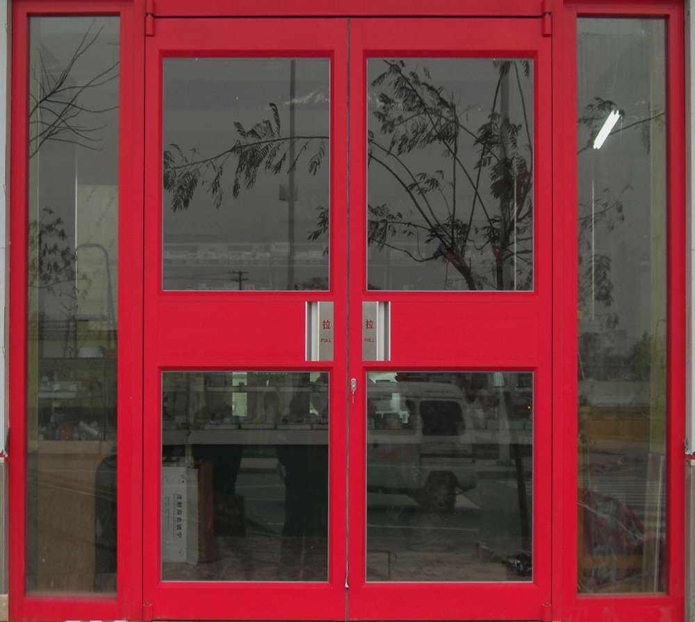 武威肯德基玻璃门