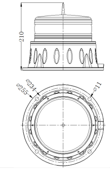 XL-LS-H太阳能一体式航标灯安装尺寸图.png