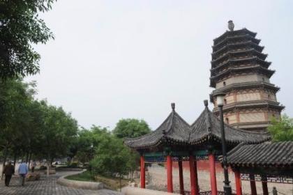 """河北正定:古城风貌恢复提升 再现""""北方雄镇""""风采"""