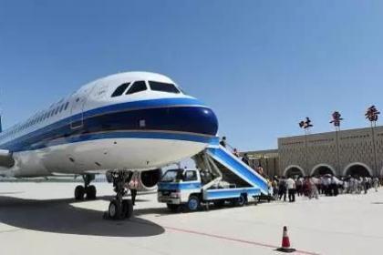 吐鲁番机场空铁联运模式成效显著
