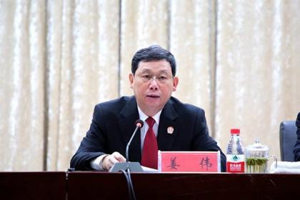 姜伟:推进两个一站式建设 促进公平正义