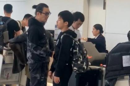 任贤齐回应在机场