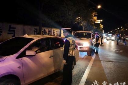 宣威交警圆满完成2020年元旦节交通安保工作