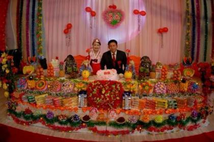 走进朝鲜:看看朝鲜有钱人如何举办婚礼的?
