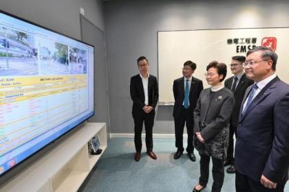 林郑月娥:暴徒破坏交通灯设施 维修开支达3000万港元