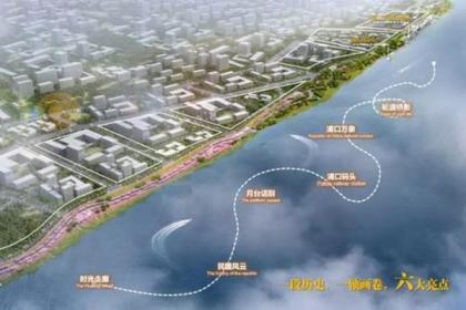 美!江北这条景观线,预计今年5月底完工
