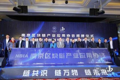南京首个市级区块链产业创新发展平台落户建邺
