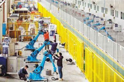 """合肥庐江高新区: """"机器换人"""",推进智能制造上台阶"""