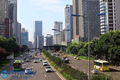 重庆渝北:城市发展 交通先行