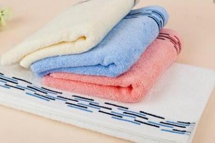 纯棉毛巾清洁的注意事项