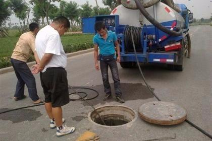 北京清理地下管道河道清淤