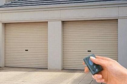 江西银行卷帘门