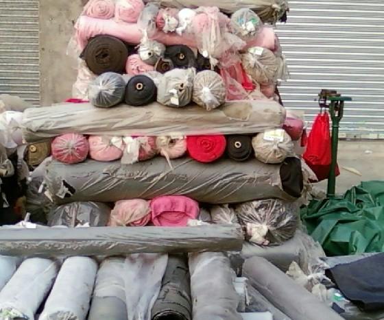 废旧布料回收