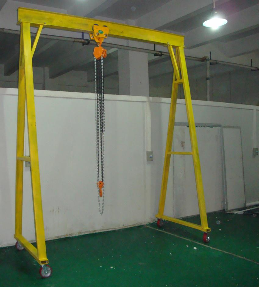 小型龙门吊架
