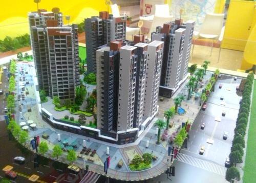 南阳工业沙盘模型