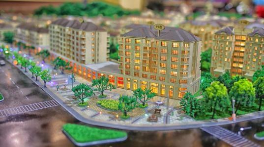 平顶山地产沙盘模型