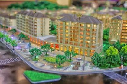 南阳房产建筑模型