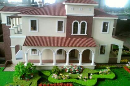 平顶山区位壁挂模型