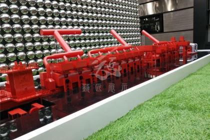 北京工业机械模型