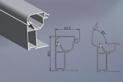 武汉拉布灯箱铝材