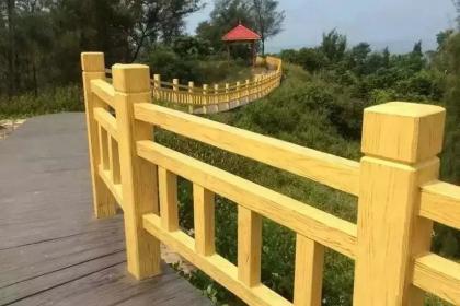 西安仿木栏杆厂家