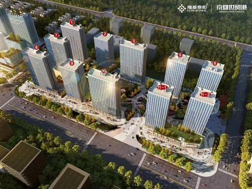 京雄世贸港领秀城位置