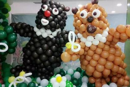 天津百日宴气球布置