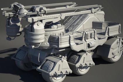 周口机械模型